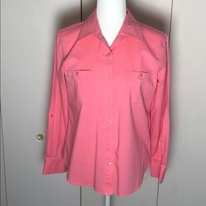 Chico's long sleeve button up shirt